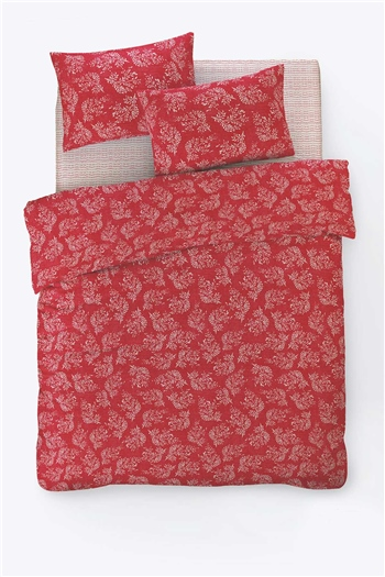 Fancy Double Size Duvet Cover Set Alize Red
