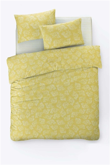 Fancy Double Size Duvet Cover Set Alize Yellow