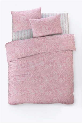Fancy Double Size Duvet Cover Set Bohem Pink