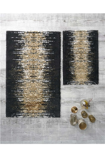 HCW Artemis 2 Pcs Bath Mat Set 40x60 + 60x100 Gold