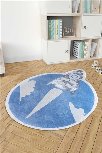 HCW Kids Carpet - Sky Blue 160x160 cm